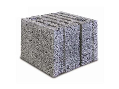 Acoustic masonry blocks