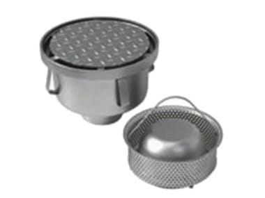 Round stainless steel gully Round reinforced gully P037