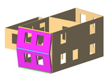 Masonry and mixed construction calculation 3Muri Meccanismi locali