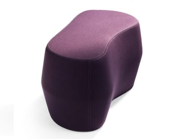 Fabric pouf ROCK'D