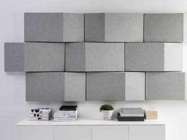 Fabric Decorative acoustic panel TRILINE WALL