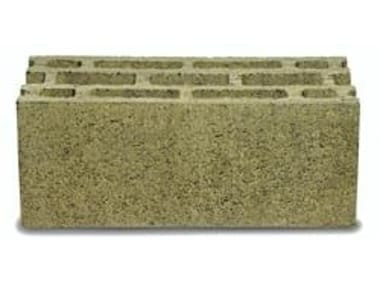 Lightweight concrete block for external wall TERMOBLOCCO FACCIAVISTA