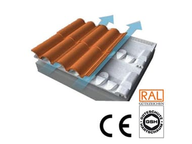Ventilated roof system AIRFLOW