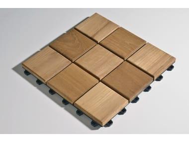 Wooden decking Larideck® Mosaic