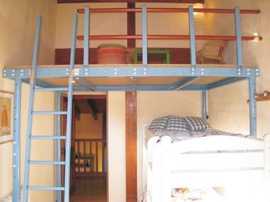 Soppalco in acciaio T8 | Soppalco