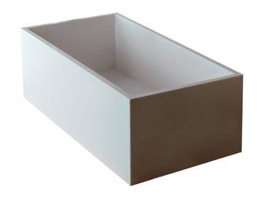 Lavabo rettangolare in HI-MACS® DEEP | Lavabo