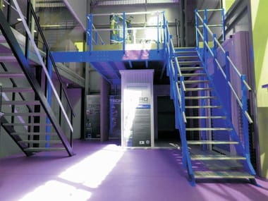 Soppalco in acciaio T30 | Soppalco