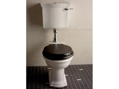 Ceramic toilet with external cistern NEW ETOILE | Toilet with external cistern