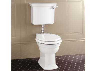 Ceramic toilet with external cistern WESTMINSTER | Toilet