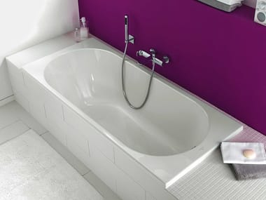 Built-in rectangular acrylic bathtub O.NOVO | Built-in bathtub