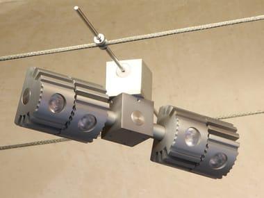 Lampada a sospensione a LED su cavi ARIES LED | TESATA | Lampada a sospensione su cavi