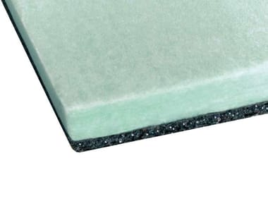 Polyester fibre thermal insulation panel BIWALL