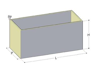 Vasca, cisterna e serbatoio per impianto idrico Vasche monolitiche