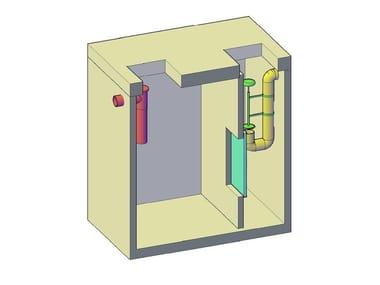 Separatore olio, disoleatore e condensagrassi Separatori liquidi leggeri