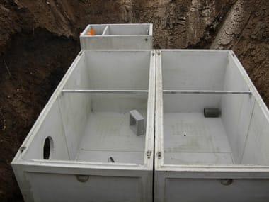 Componente per impianto antincendio Riserve idriche antincendio