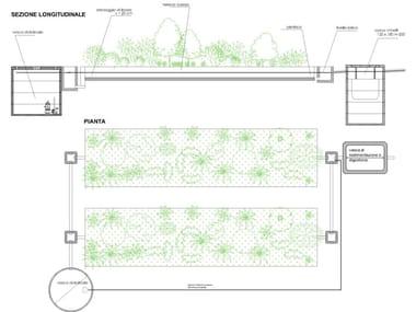 Purification and disposal system Impianto di fitodepurazione