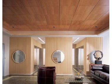 Wooden ceiling panels MADERA VECTOR