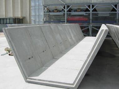 Water mains grid component Trapezoidal channel