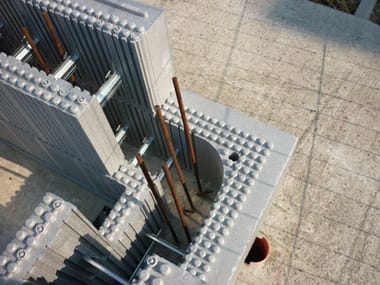ICF to stay in Neopor for concrete walls ARGISOL