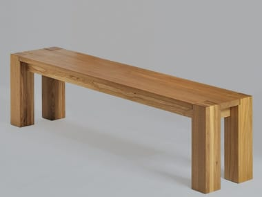 Solid wood bench TAURUS | Bench