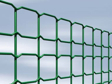 Plasticized electrically welded mesh Fence DECOPLAX EVOLUZIONE
