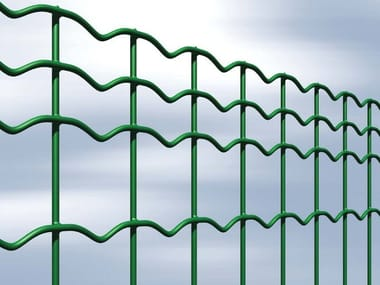 Plasticized electrically welded mesh Fence EVERPLAX