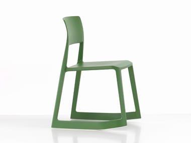 Stackable polypropylene chair TIP TON