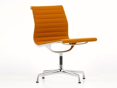Fabric chair with 4-spoke base ALUMINIUM CHAIR EA 105