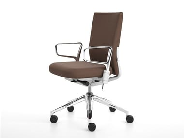 Sedia ufficio girevole in tessuto ID SOFT