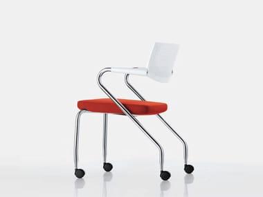 Cadeira operativa com rodízios VISAROLL 2