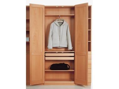 Scandinavian style wooden wardrobe KA72 | 732