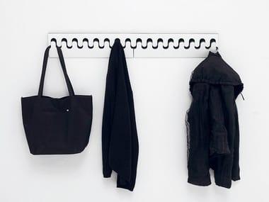 Laminate coat rack PONOQ   Wall-mounted coat rack
