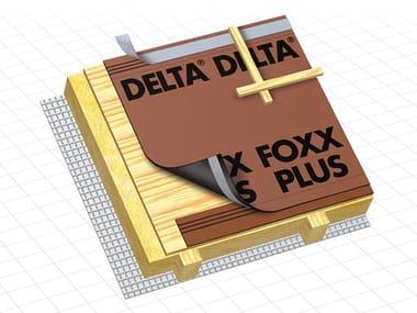 Telo protettivo e traspirante per sottotetto DELTA® - FOXX / DELTA® - FOXX PLUS