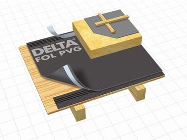 Telo protettivo e traspirante per sottotetto DELTA® - PVG / DELTA® - PVG PLUS