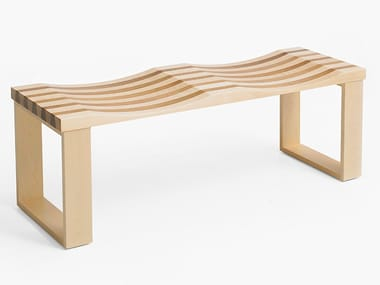 Wooden bench SIDEbySIDE