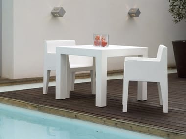 Garden chair with armrests JUT | Chair with armrests
