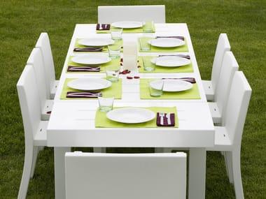 Tavolo Plastica Giardino Allungabile.Tavoli Da Giardino Allungabili Design Archiproducts