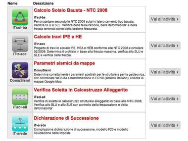 تطبيقات الويب لمصممي INTERSTUDIO TOOLS