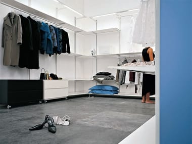 Cabina armadio componibile in metallo DOT WARDROBE