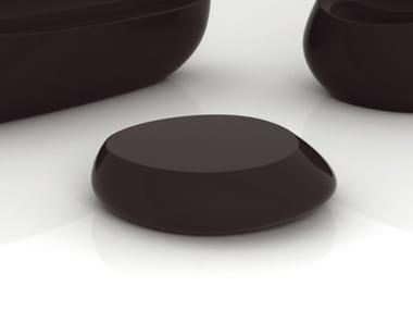 Low polyethylene garden side table STONES | Garden side table