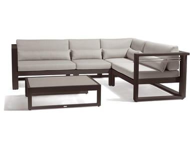 Modular garden sofa FUSE | Modular sofa