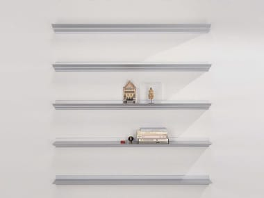 Aluminium wall shelf CORNISA
