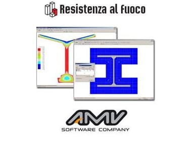 Calculation of fire resistance of structural element RESISTENZA AL FUOCO