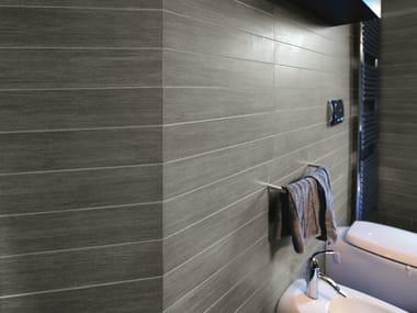 Glazed stoneware wall/floor tiles METALWOOD