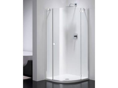 Box doccia semicircolare in vetro COMBI CS