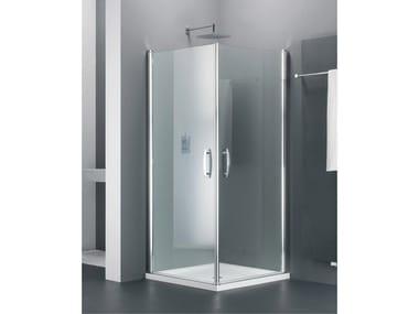 Box doccia angolare in vetro ELEGANCE TE