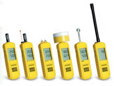 Measurement, control, thermographic and infrared instruments Humidity meter