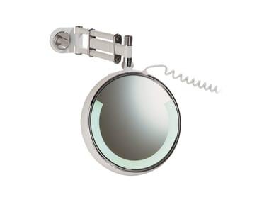 Specchio ingranditore a parete con illuminazione integrata RELAX RE 03