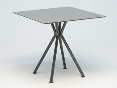 Square aluminium garden table NIZZA | Square table