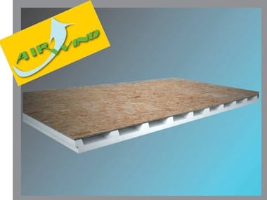 OSB ventilated roof system ECO